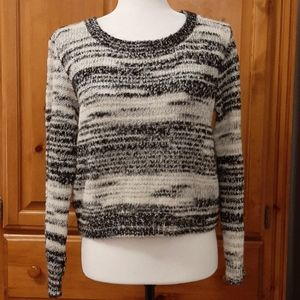 H & M Black and White Sweater